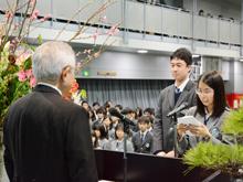 18期生卒業式